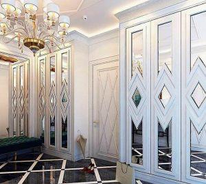 Двери с делителем наклейкой Норильск