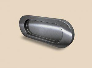 Ручка серебро глянец овальная Италия Норильск