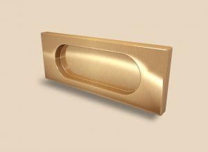 Ручка Золото глянец прямоугольная Италия Норильск