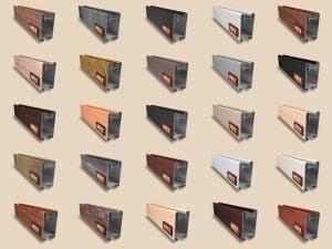 """Алюминиевый ламинированный профиль """"HOLZ"""" для шкафов купе и межкомнатных перегородок Более 100 цветов Норильск"""