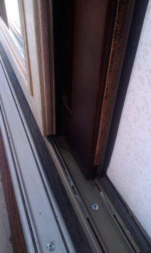 Двери массив на нижней направляющей Норильск