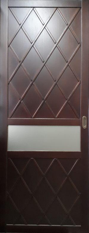 Вставка в дверь с фигурной филенкой Норильск