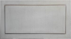Вставка в дверь с филенкой шпон+патина Норильск